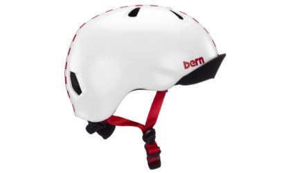 Bern Niña Helm rot checkers