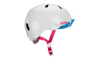 Bern Niña Helm weiss