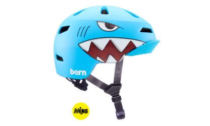 Bern Niño 2.0 MIPS Matte Shark Bite