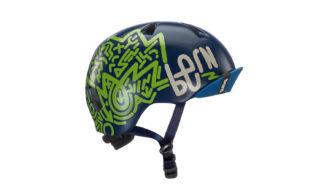 Bern Niño Helm navy blau