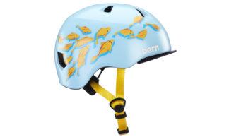 Bern Tigre Helm blue goldfish