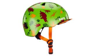 Bern Tigre Helm green dino